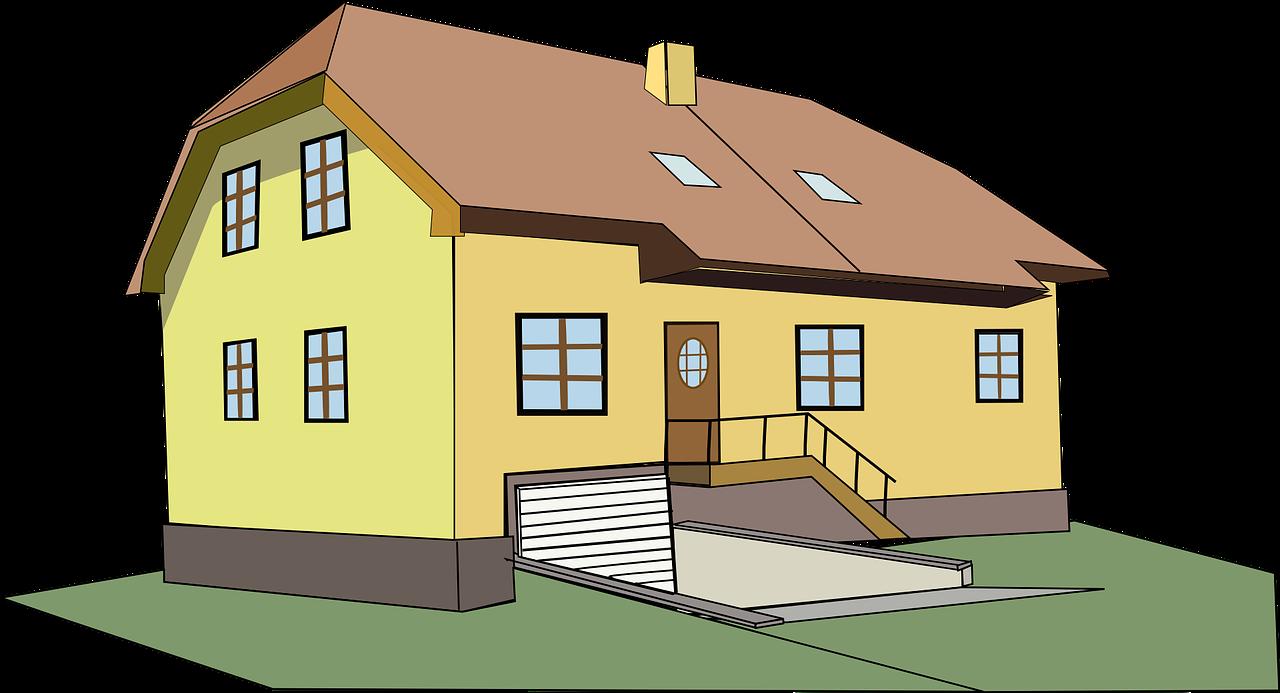 בית לפני הובלה