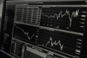 גרפים של השקעה על המחשב